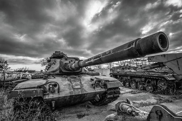 Wall Art - Photograph - Military Tank by Mike Burgquist