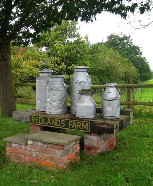 Photograph - Milkcans Wiltshire England by Kurt Van Wagner