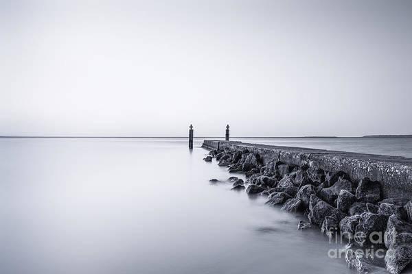 Atlantic Photograph - Milky Sea by Evelina Kremsdorf