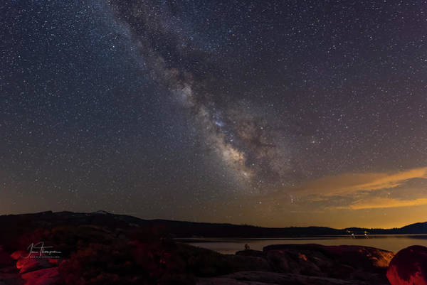 Photograph - Milky Way 4 by Jim Thompson