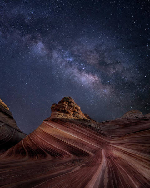 Photograph - Milky Way And The Wave by Michael Ash