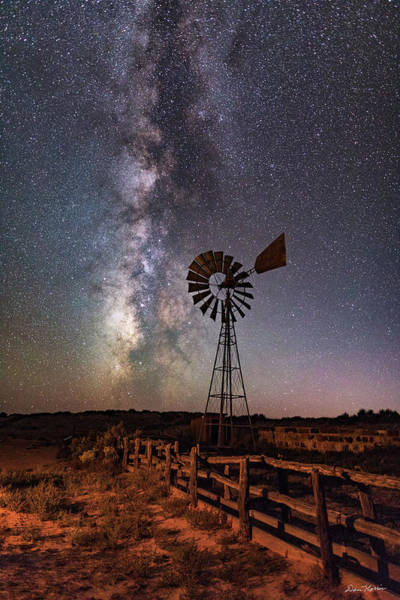Photograph - Milky Way At Dubinky Well by Dan Norris