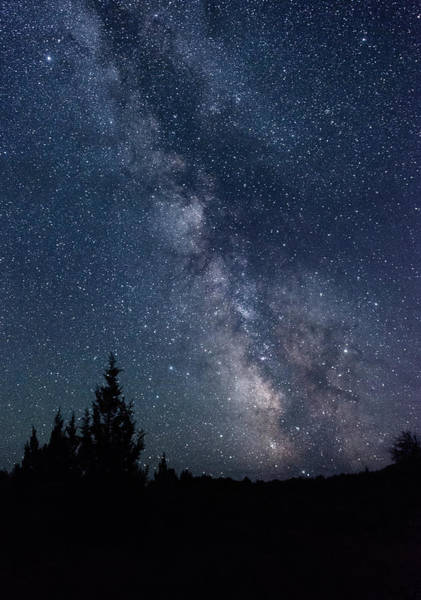 Milky Way At Eastern Oregon Wilderness Art Print