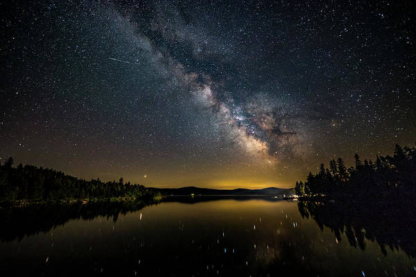 Photograph - Milky Way At Hunter Cover by Darryl Hendricks