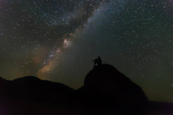 Photograph - Milky Way From  The Earth by Artistic Panda