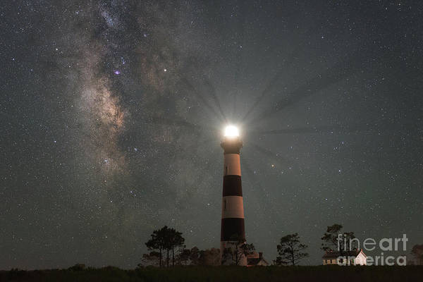 Bodie Photograph - Milky Way Nightlight by Michael Ver Sprill