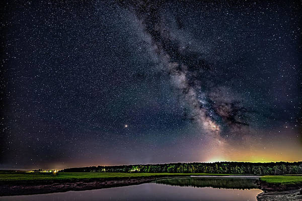 Photograph - Milky Way On The Eastern Trail by Darryl Hendricks