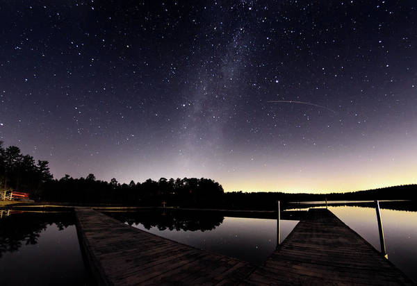 Cachalot Wall Art - Photograph - Milky Way Over Five Mile by Dennis Wilkinson