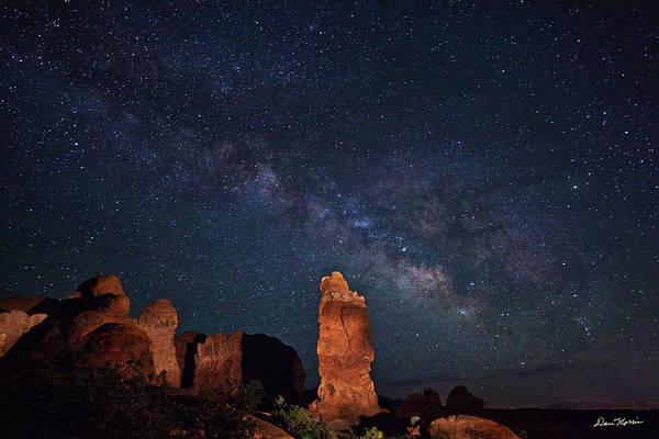 Wall Art - Photograph - Milky Way Over Garden Of Eden by Dan Norris