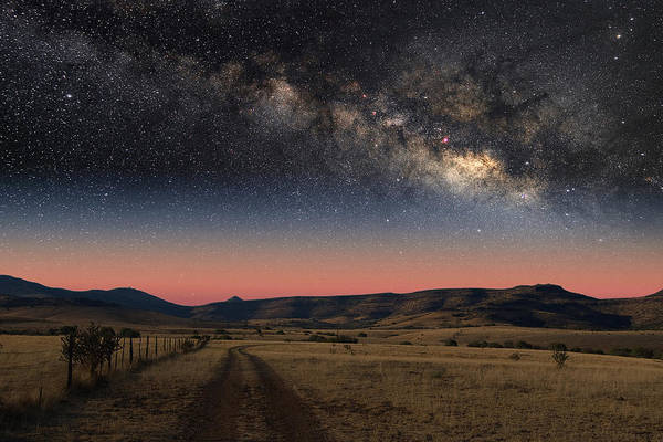 Photograph - Milky Way Over Texas by Larry Landolfi