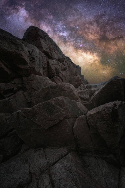Wall Art - Photograph - Milky Way Over The Park Loop Road by Jeff Bazinet