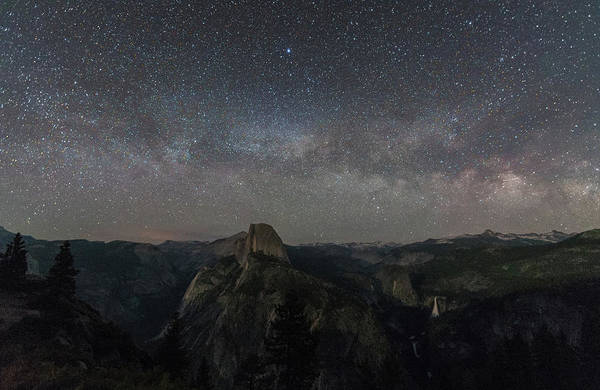 Photograph - Milky Way Over The Valley by Kristopher Schoenleber