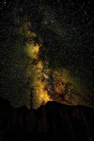 Photograph - Milky Way Over Wheeler Peak by Greg Norrell