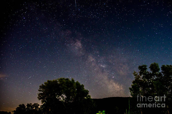 Photograph - Milkyway In The Catskills by Jim DeLillo