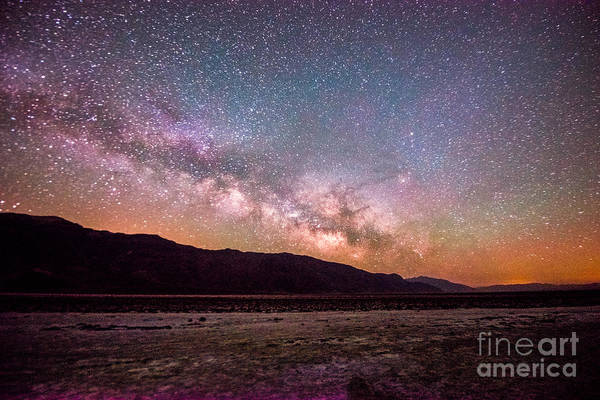 Photograph - Milkyway Over Death Valley by Jim DeLillo