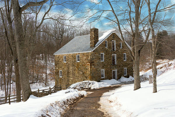 Photograph - Mill - Cooper Grist Mill by Mike Savad