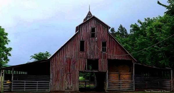 Photograph - Mill Creek Barn by Wesley Nesbitt