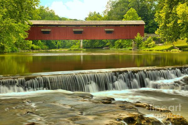 Photograph - Mill Creek Cataract Falls by Adam Jewell