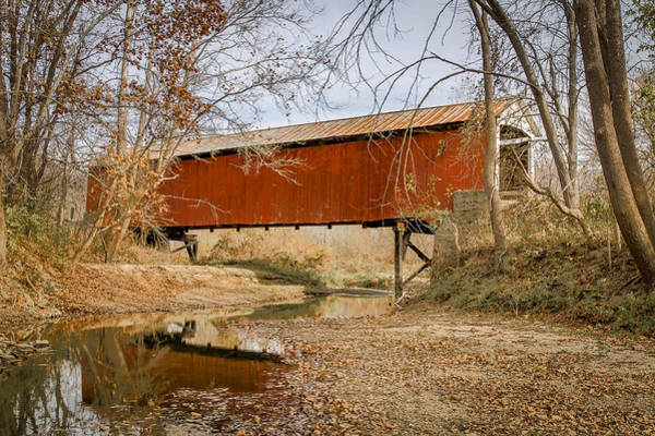 Photograph - Mill Creek/tow Path Covered Bridge by Jack R Perry