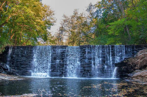 Photograph - Mill Creek Waterfall - Gladwayne Pennsylvania by Bill Cannon
