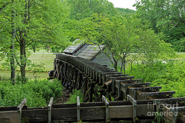 Photograph - Mill Race For Mabry Mill by Fred Stearns