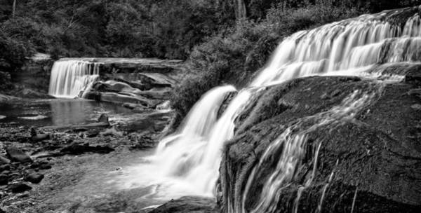 Mill Shoals Falls Wall Art - Photograph - Mill Shoals Falls And Shoal Creek Falls - Waterfalls In North Carolina Photos by Matt Plyler