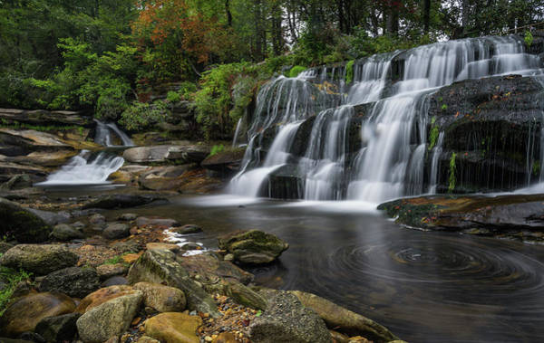Mill Shoals Falls Wall Art - Photograph - Mill Shoals Falls by Reid Northrup