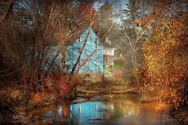 Photograph - Mill - Walnford, Nj - Walnford Mill by Mike Savad