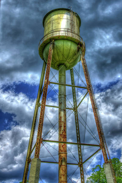 Photograph - Mill Water Days Gone By Industrial Art by Reid Callaway