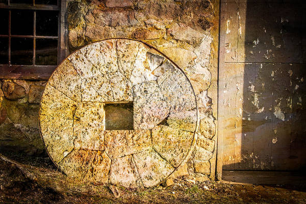 Photograph - Mill Wheel At The Grist Mill by Eleanor Abramson