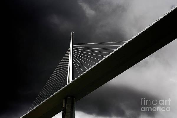 Photograph - Millau Viaduct by Heiko Koehrer-Wagner