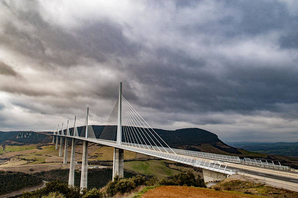 Photograph - Millau Viaduct by Neil Alexander