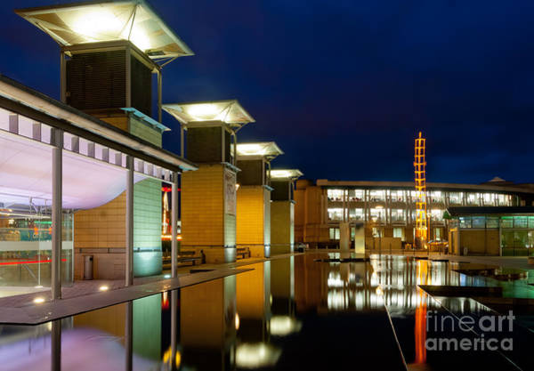 Photograph - Millemium Square, Bristol At Night. by Colin Rayner