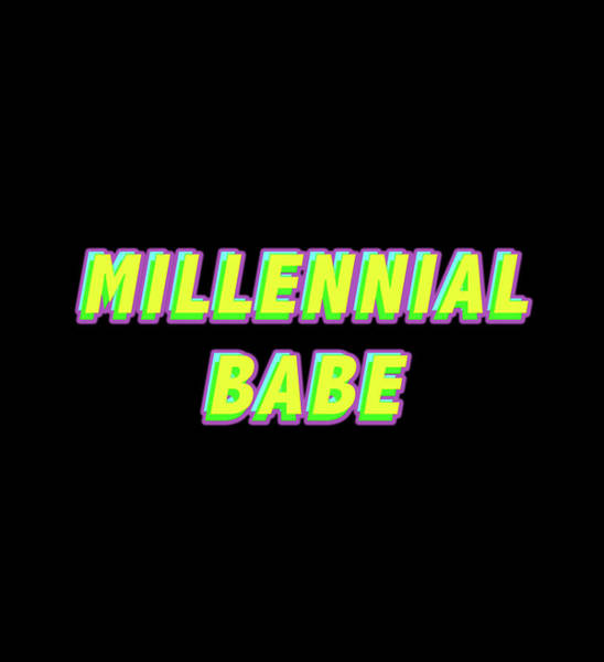 Amarillo Digital Art - Millennial Babe by Jorge Gomez