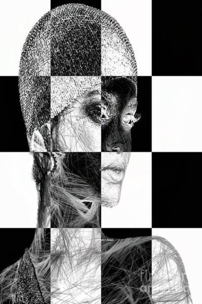 Digital Art - Millennial Square Series 1254 by Rafael Salazar