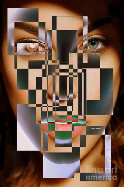 Digital Art - Millennial Square Series 1257 by Rafael Salazar
