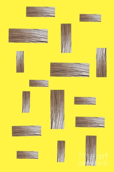 Digital Art - Millennial Yellow Abstract Vertical  by Rachel Hannah