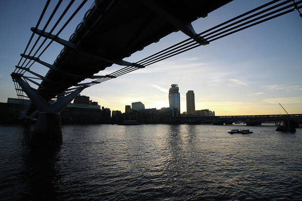 Photograph - Millennium Bridge, London by Aidan Moran