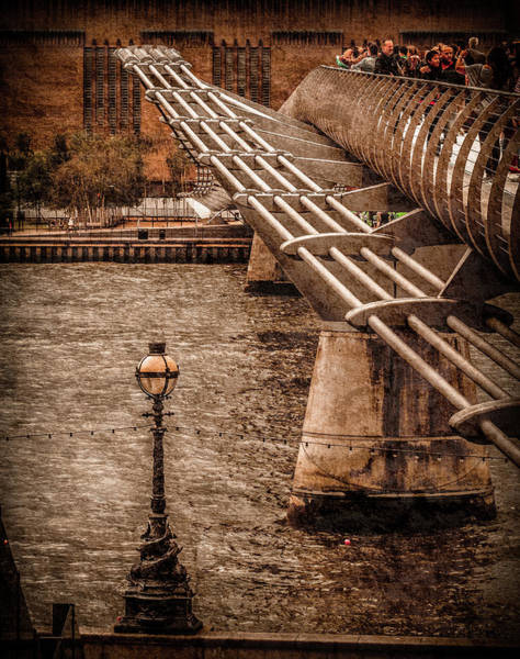 Photograph - London, England - Millennium Bridge by Mark Forte