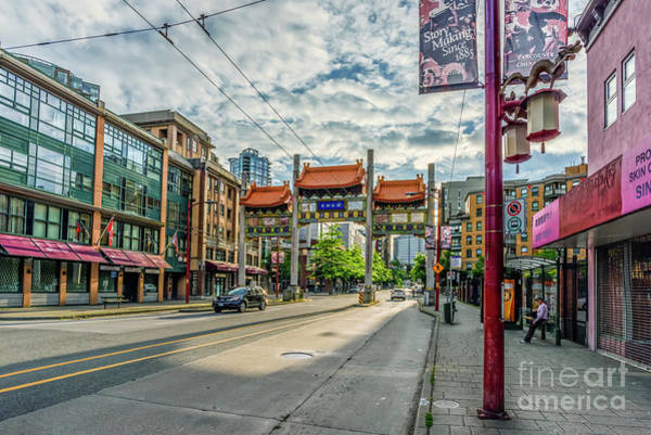 Wall Art - Photograph - Millennium Gate In Vancouver Chinatown, Canada by Viktor Birkus