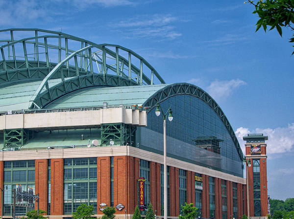 Photograph - Miller Park - Milwaukee 3 by Steven Ralser