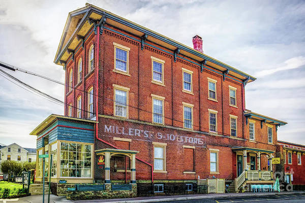 Photograph - Millers 5 And 10 by Nick Zelinsky