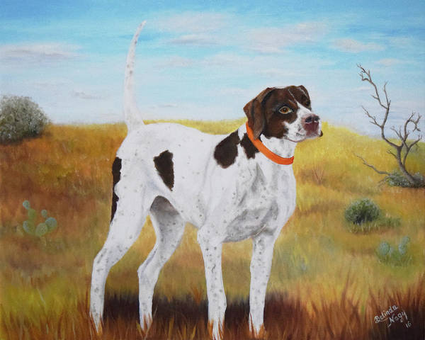 Field Spaniel Painting - Milley, Pure Perfection by Belinda Nagy