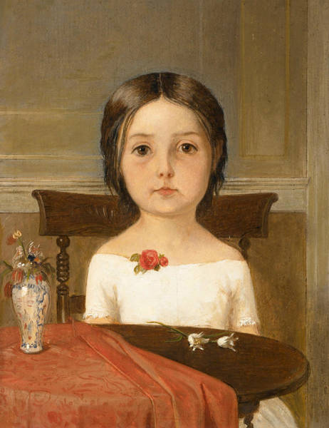 Wall Art - Painting - Millie Smith by Ford Madox Brown
