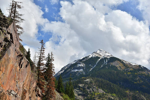 Photograph - Million Dollar Highway Above Ouray by Ray Mathis