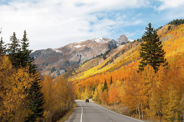 Photograph - Million Dollar Highway by Steve Stuller
