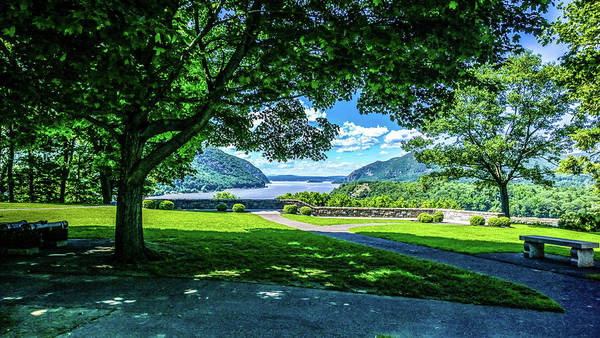 Wall Art - Photograph - Million Dollar View From West Point Military Academy by William Rogers