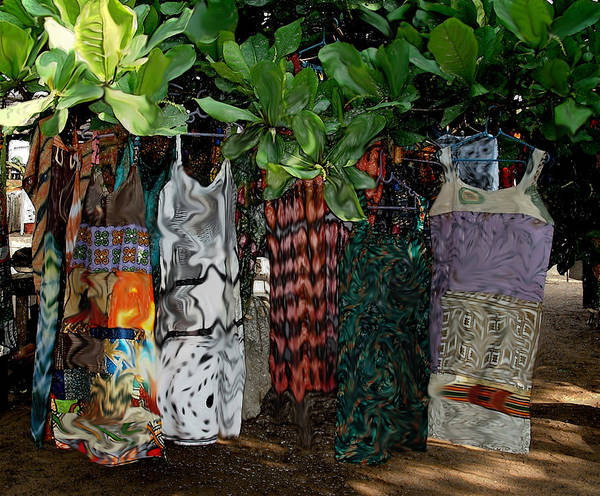 Photograph - Millys Clothes Grow On Trees by Wayne King