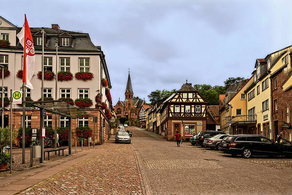 Photograph - Miltenberg, Germany Street Scene by Kay Brewer