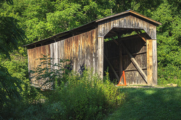 Photograph - Milton Dye Covered Bridge  by Jack R Perry